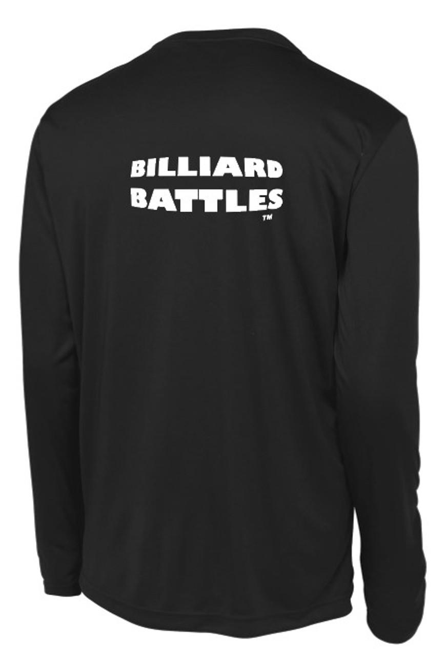 Billiard Battles™ Men's Long Sleeve Performance Tee