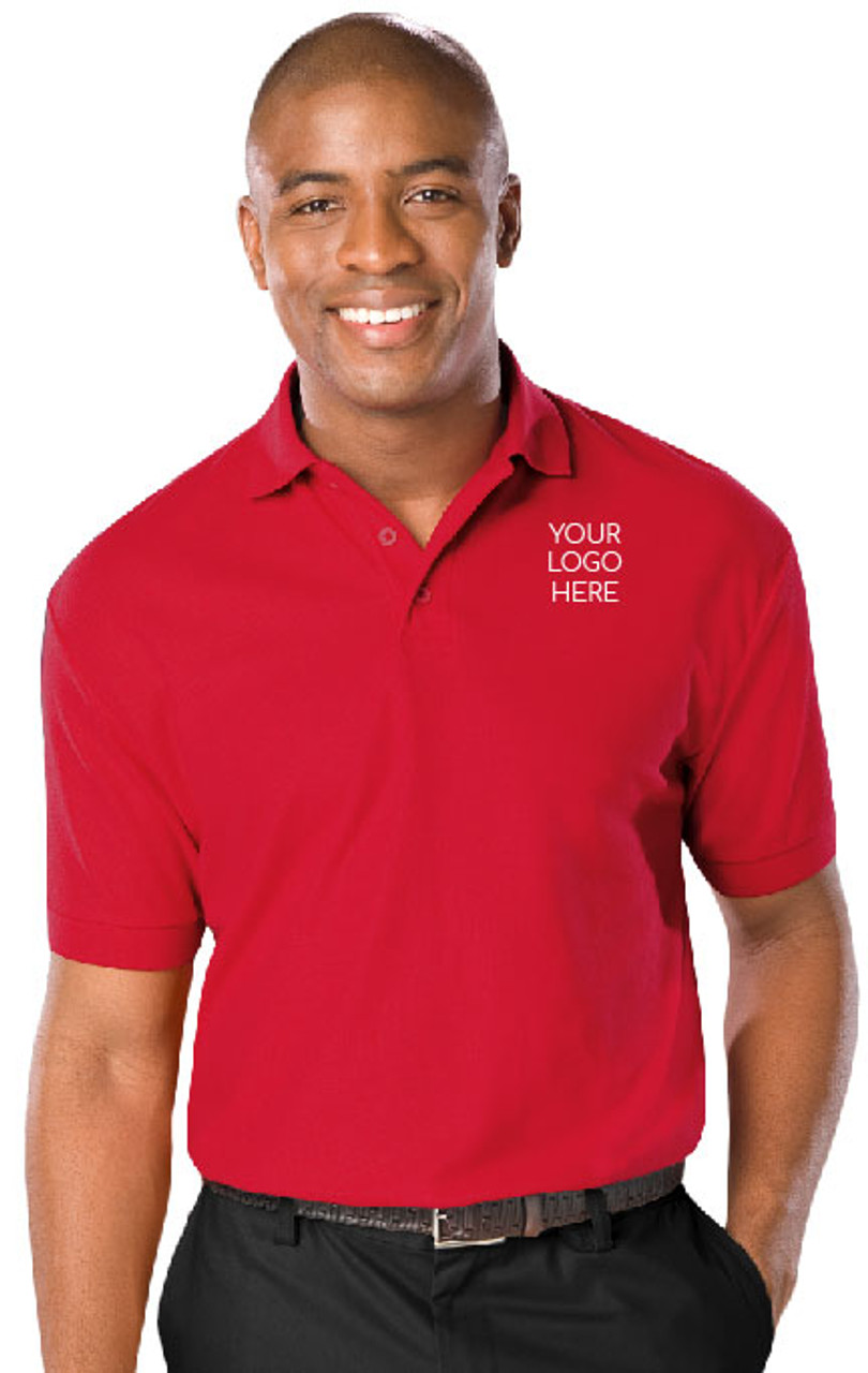 Super Value embroidered polo shirt.