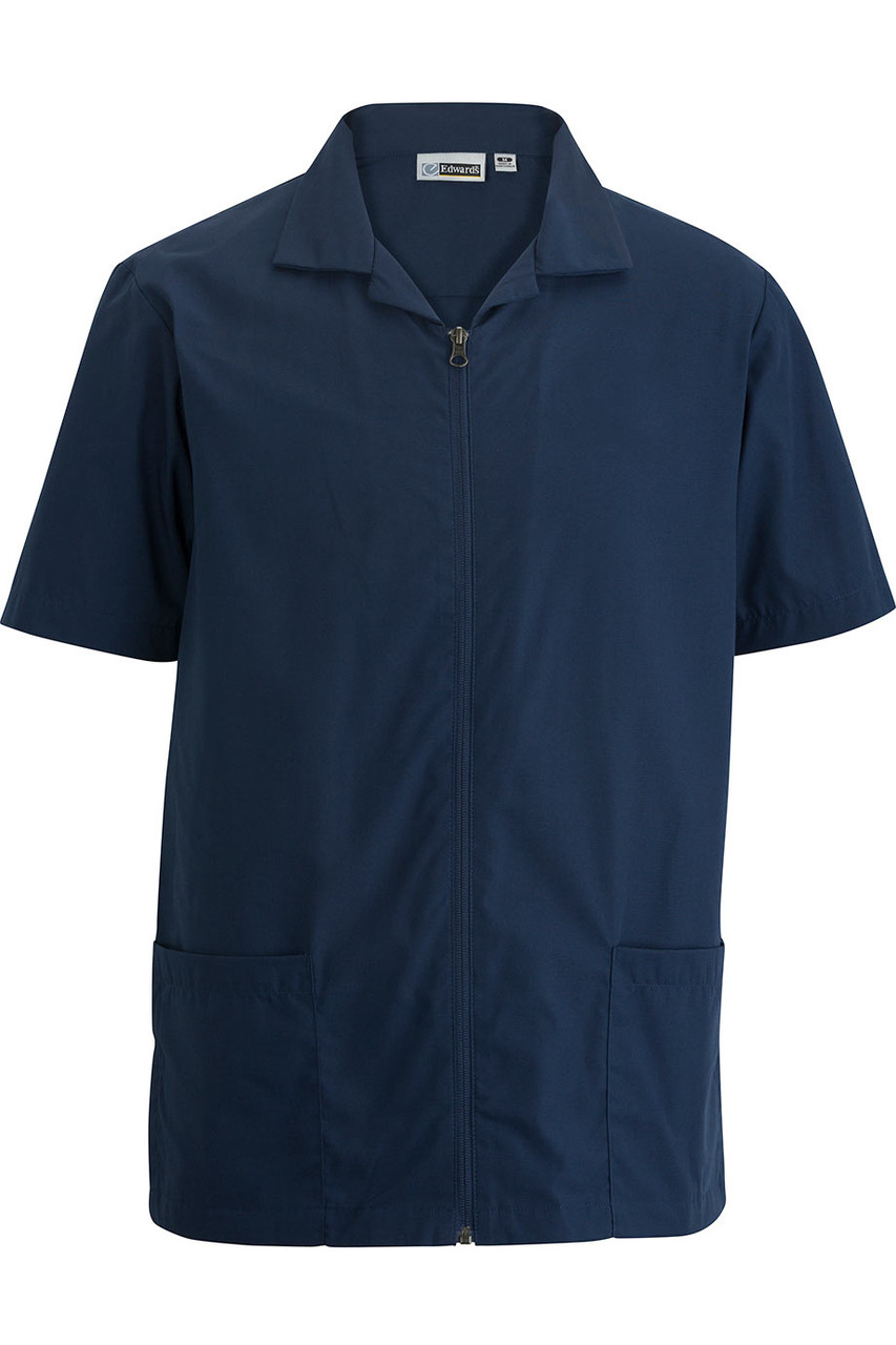 Essential Zip-Front Service Shirt