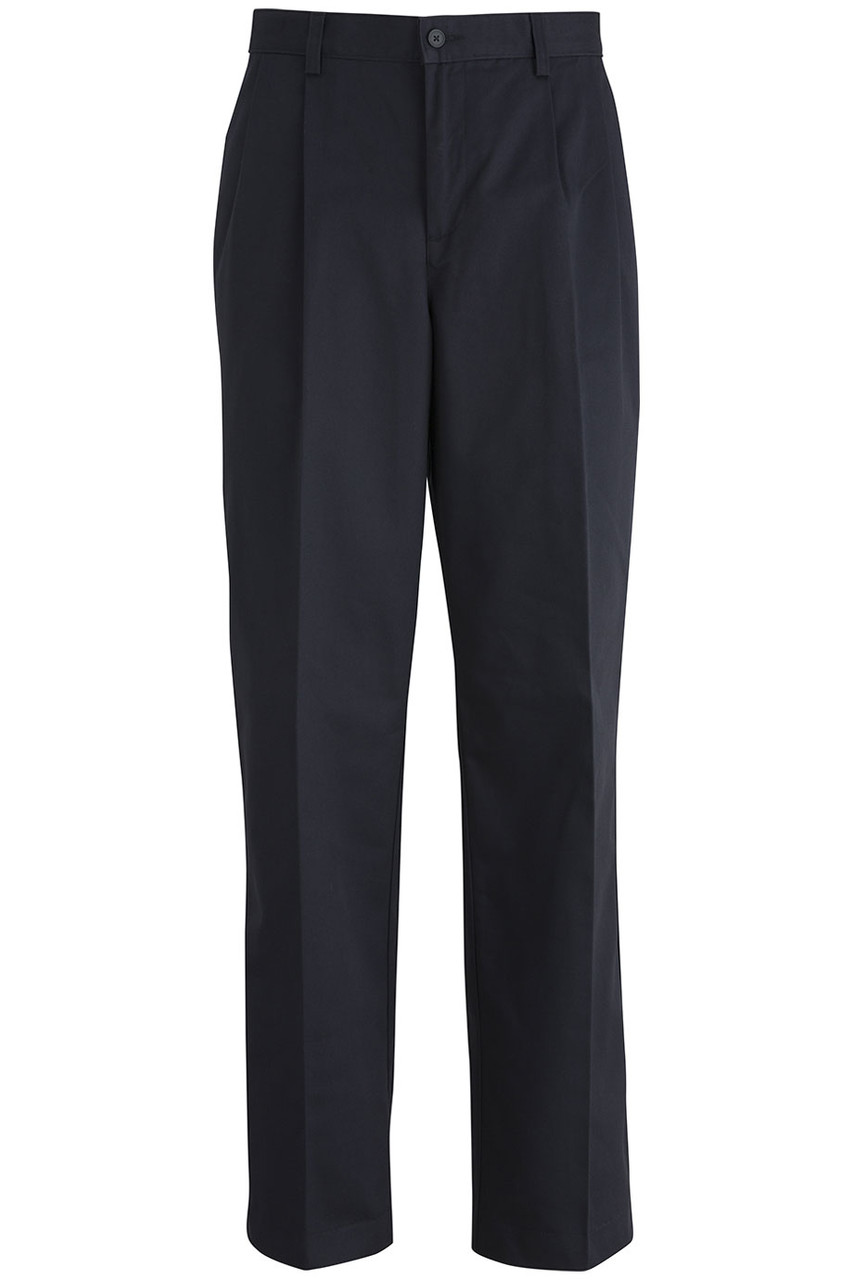 Men's Staff Pleated Pants