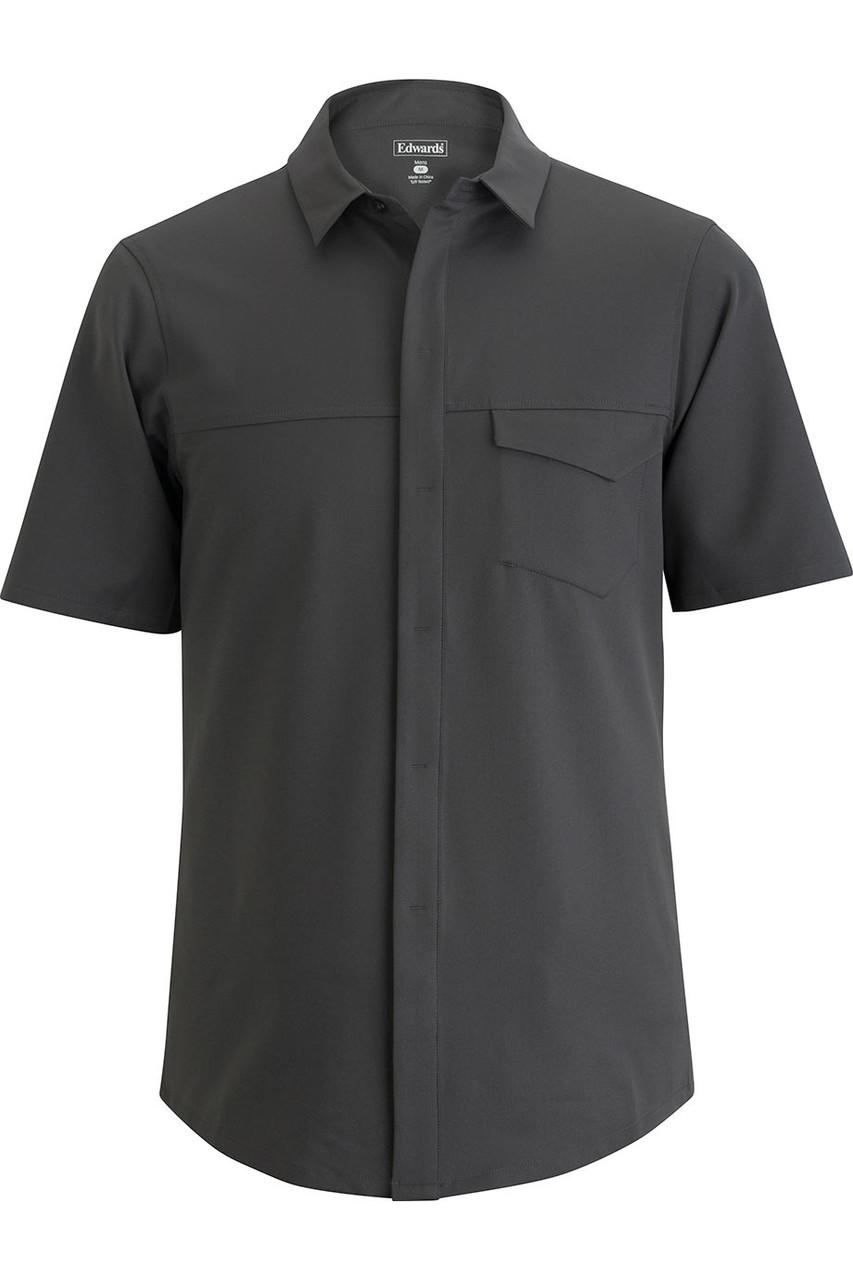 Pincord Stretch Stretch Tech Shirt