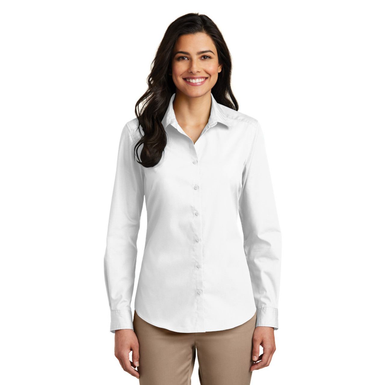 Ladies Stain Release Work Shirt