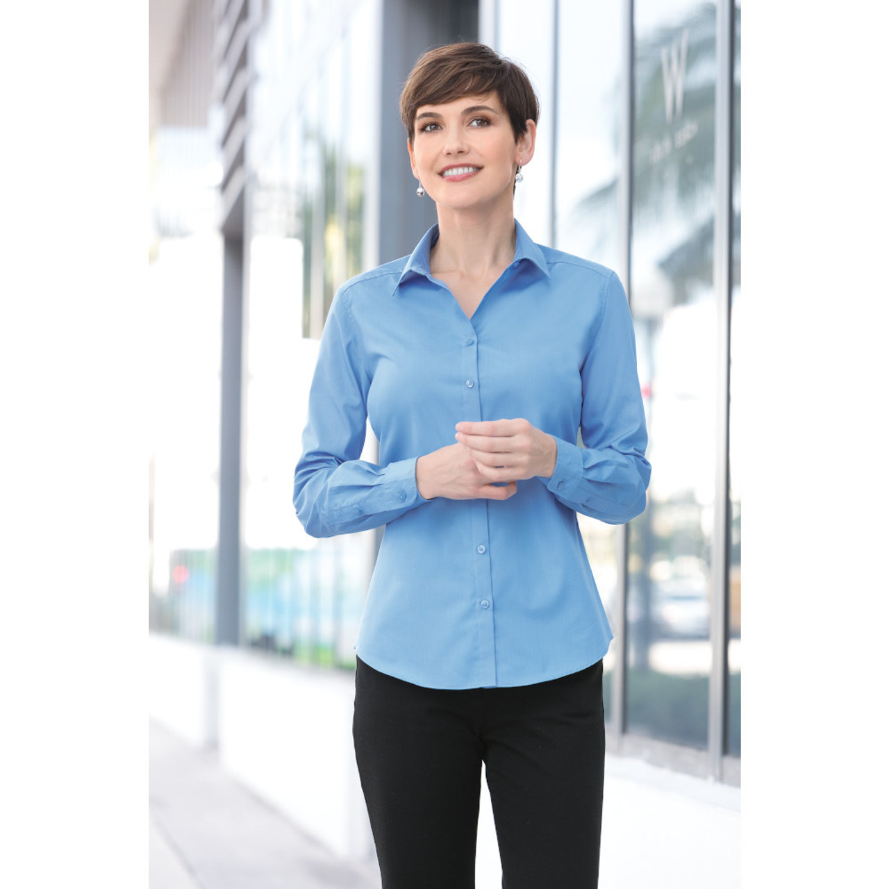 LW100 Stain Release Work Shirt