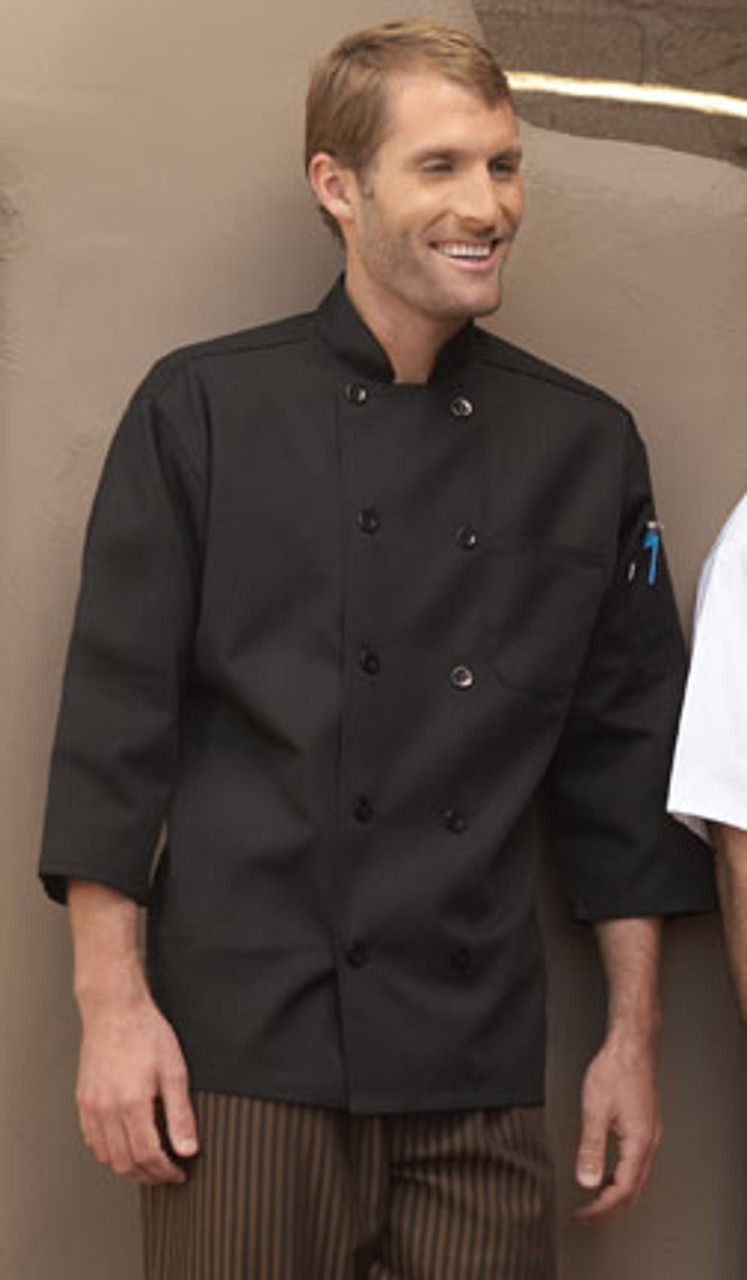 3/4 sleeve chef coat for men and women