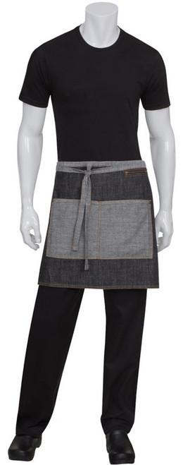 Longer waist apron
