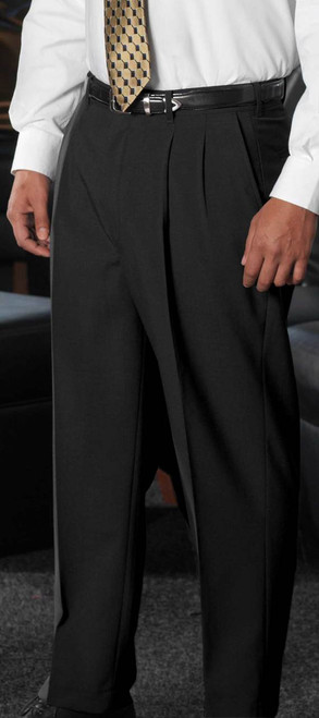 Men's Pleated Suit Pants