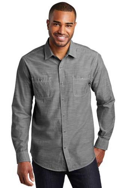 Port Authority® Slub Chambray Shirt