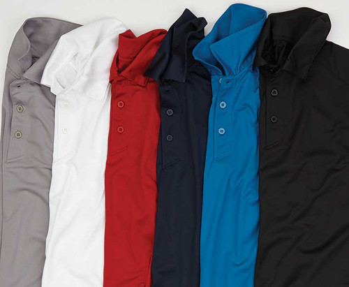 Moisture Wicking Polo CLOSEOUT No Returns