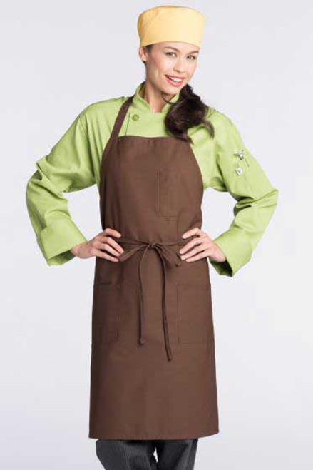 Pencil Patch Pocket Bib Apron
