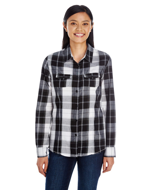 Plaid Uniform Shirt by Burnside