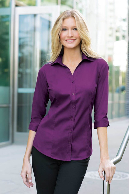 Port Authority Easy Care 3/4 Sleeve Shirt