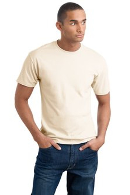 Cream colored cotton t-shirt