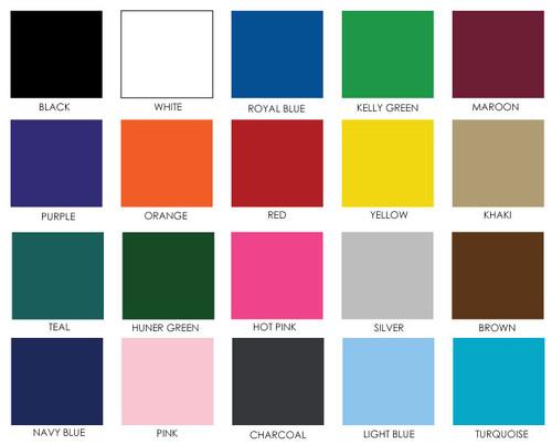Color option for reversible apron