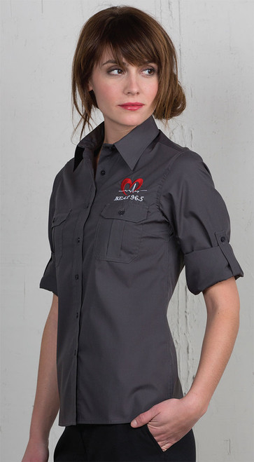 embroider your logo on this shirt