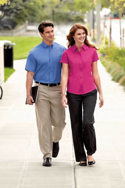 Short Sleeve Easy Care Shirt by Port Authority