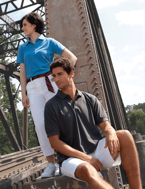 Men's Soft Touch Pique Polo Shirt
