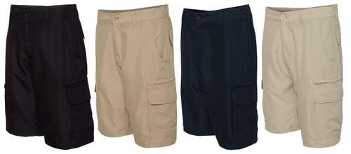 Black, Navy, Khaki, and Stone Burnside Men's shorts