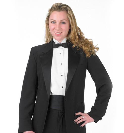 Formal waiter jacket sized for women