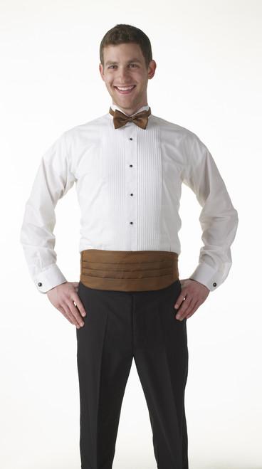 Long Sleeve fine dining tuxedo shirt