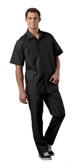 Zip Front Service Shirt