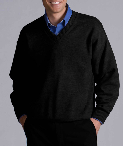 Perfect Men's V-Neck Sweater