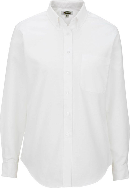Women's Long Sleeve Easy Care Oxford Shirt