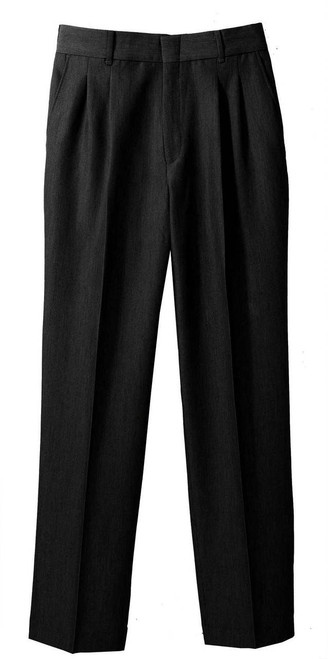 Women's Washable Poly/Wool Pleated Pants