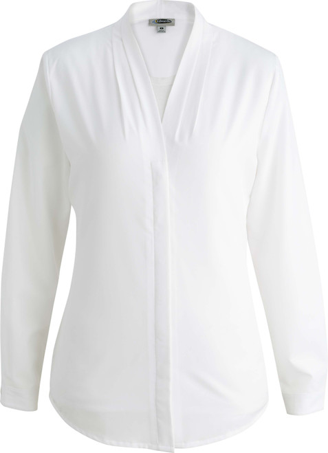 LADIES' V-NECK BLOUSE
