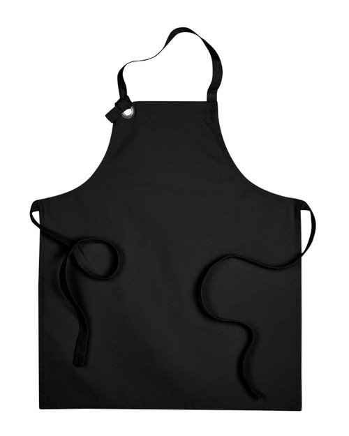 Grommet Heavy Cotton Canvas Bib Apron