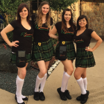 Aewsome kilt uniforms at this Pub