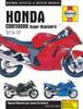 Honda CBR1100XX Super Blackbird (97 - 07) Haynes Repair Manual