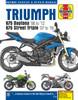 Triumph 675 Daytona & Street Triple (06 - 16) Haynes Repair Manual
