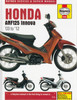 Honda ANF125 Innova Scooter 2003 - 2012 Workshop Manual