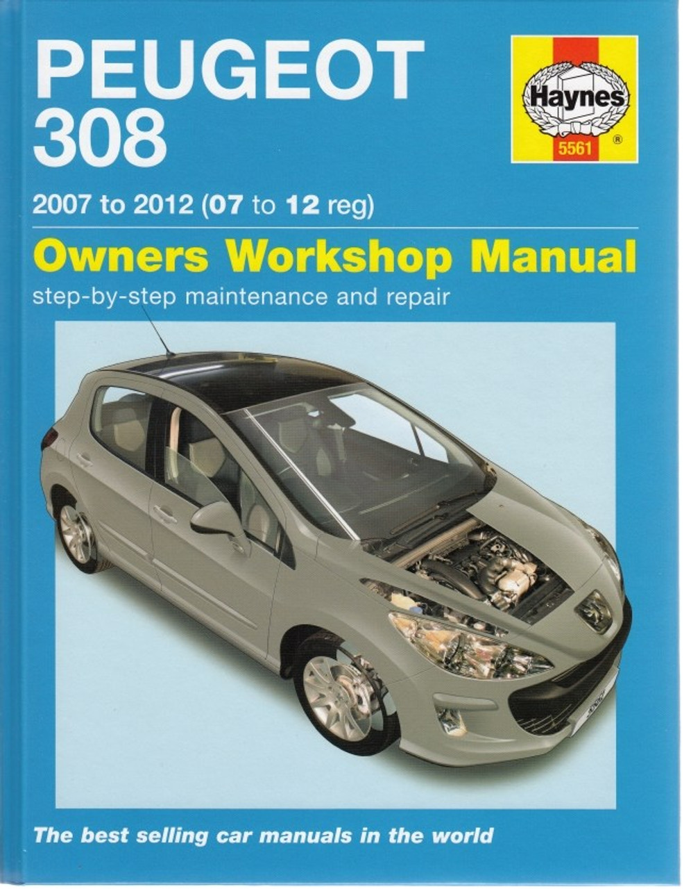 peugeot 308 2007 - 2012 petrol & diesel repair manual