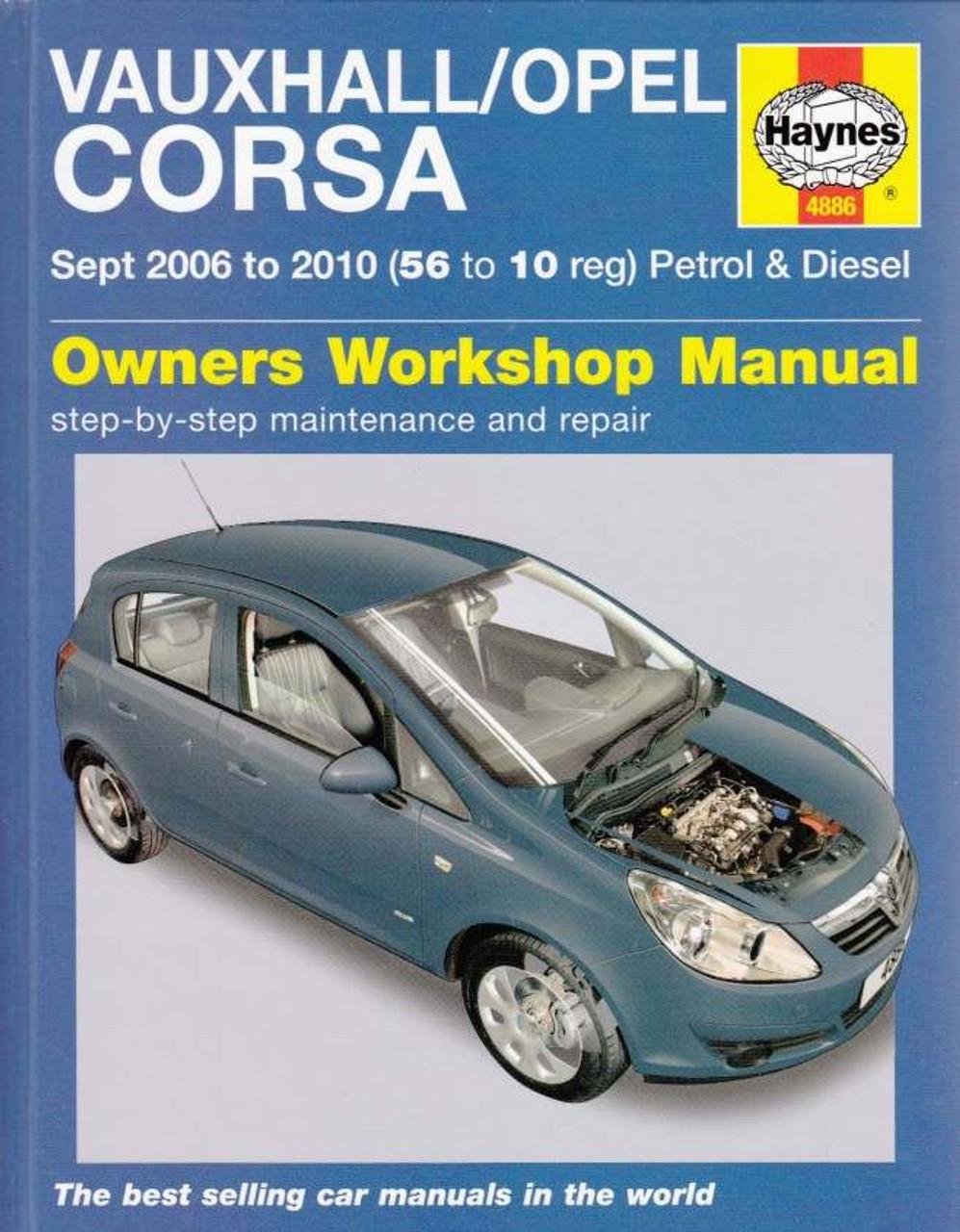 repair manual opel corsa workshop