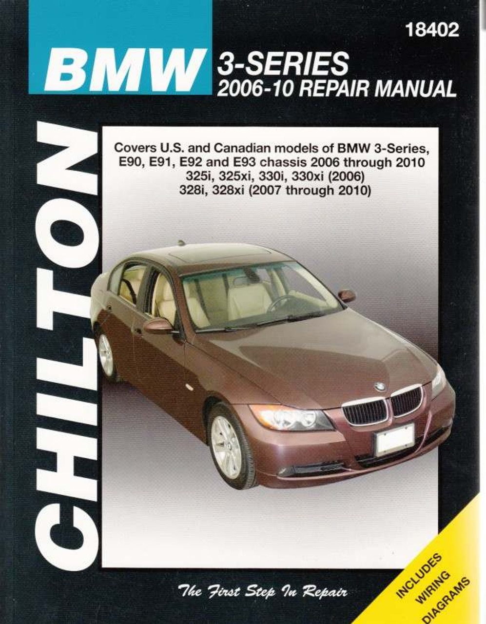 Haynes Manual 4782 BMW 3-Series 318i 320i 325i 330i E90 E91 2005-2008