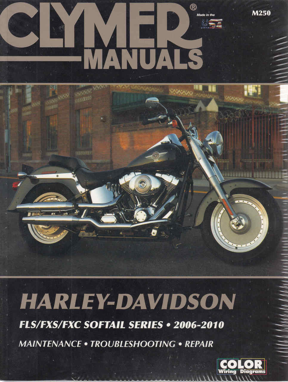 Harley Flstc Wiring Diagram on