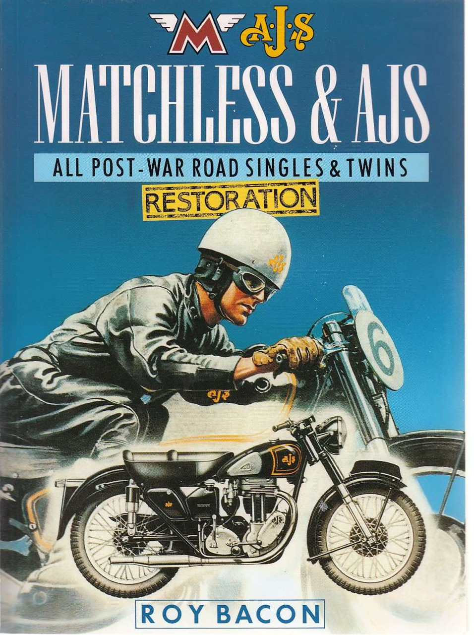 Matchless & AJS Restoration - All Post-War Road Singles & Twins - Roy Bacon