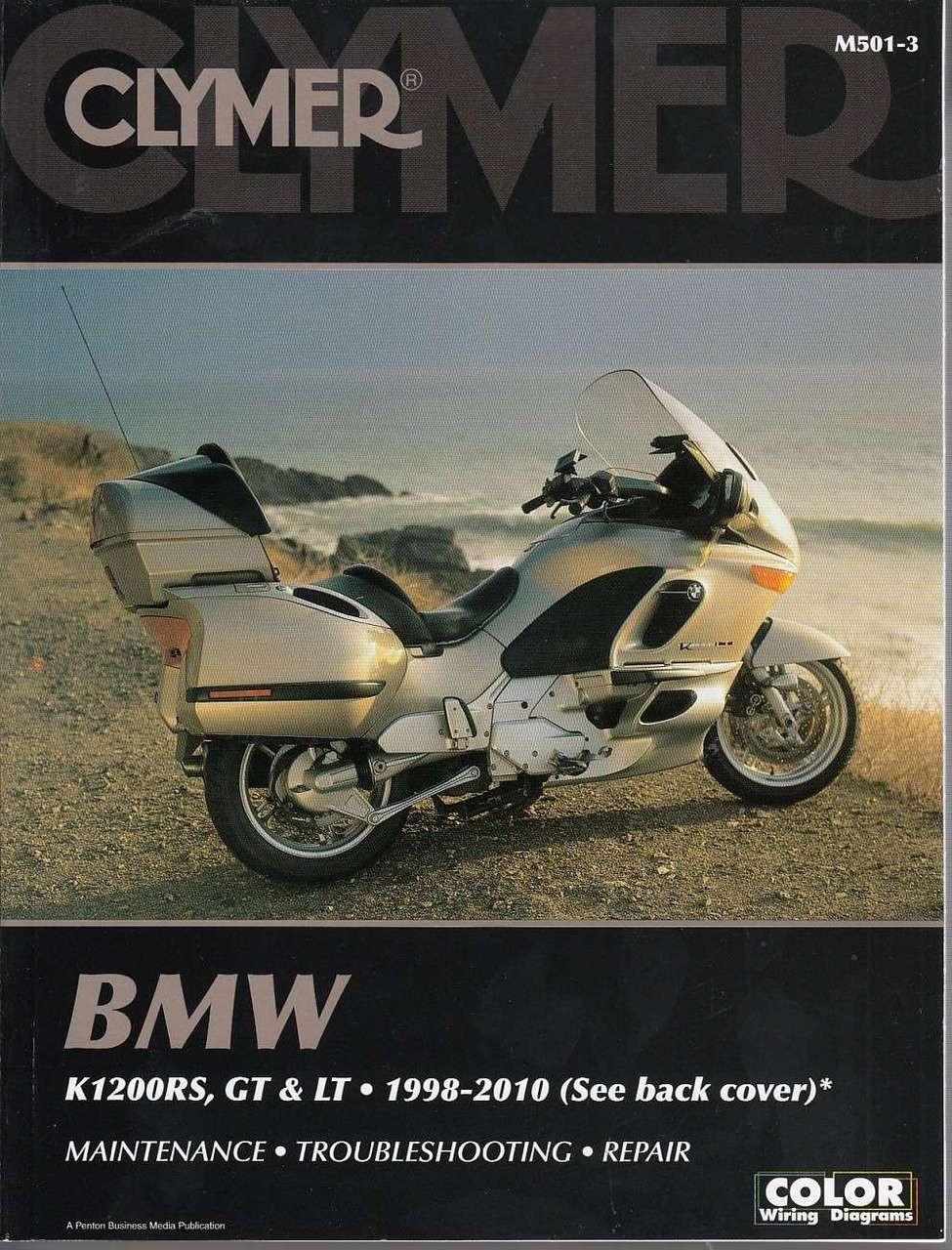 BMW K1200RS, K1200GT and K1200LT 1998 - 2010 Workshop Manual on
