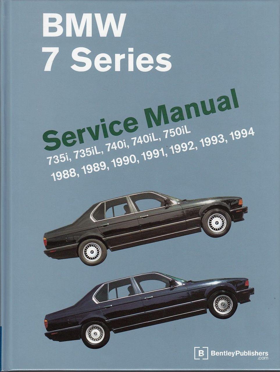 bmw e32 1993 factory service repair manual