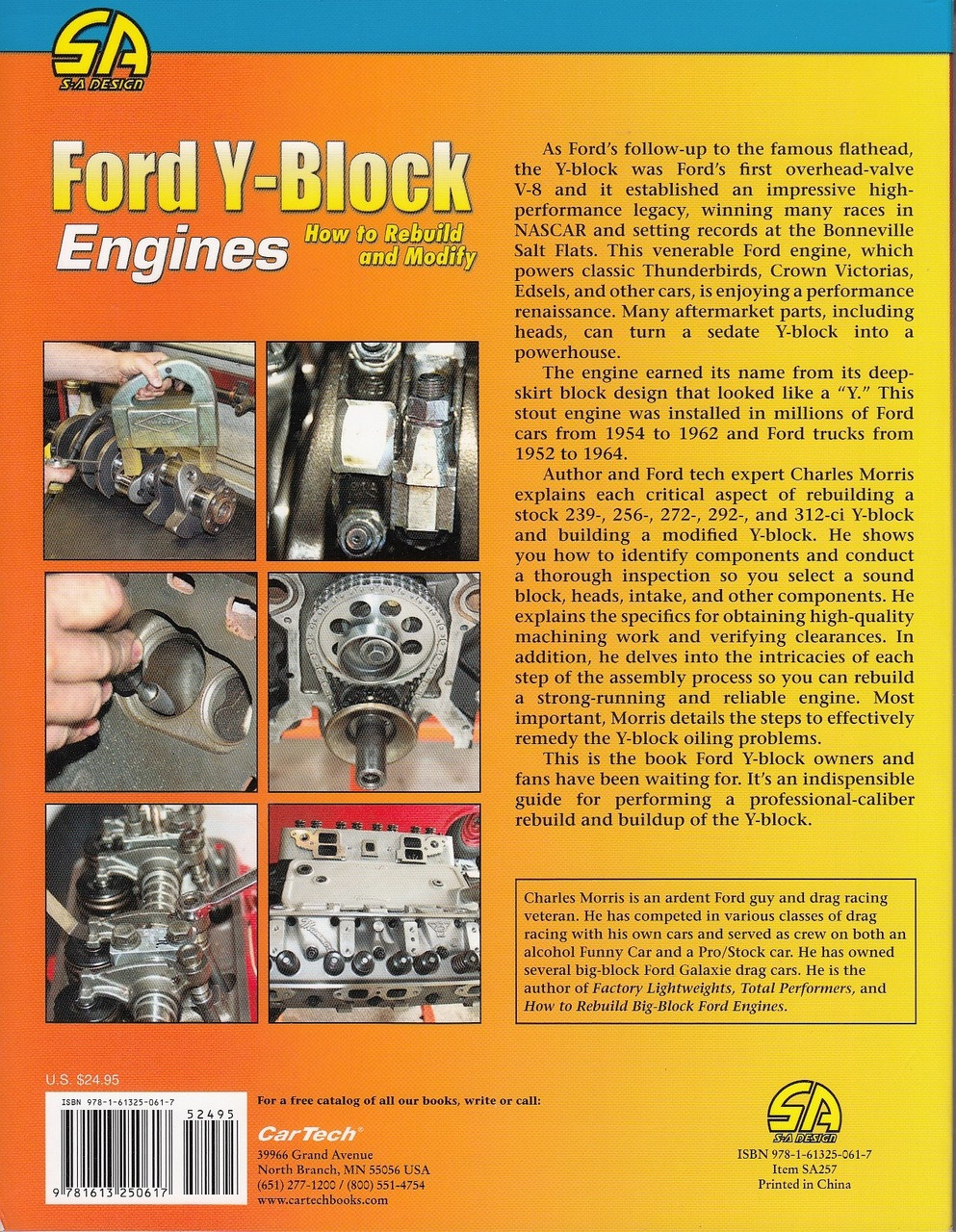 collectivedata.com Y-BLOCK BOOK HOW TO FORD MANUAL REBUILD ENGINES ...