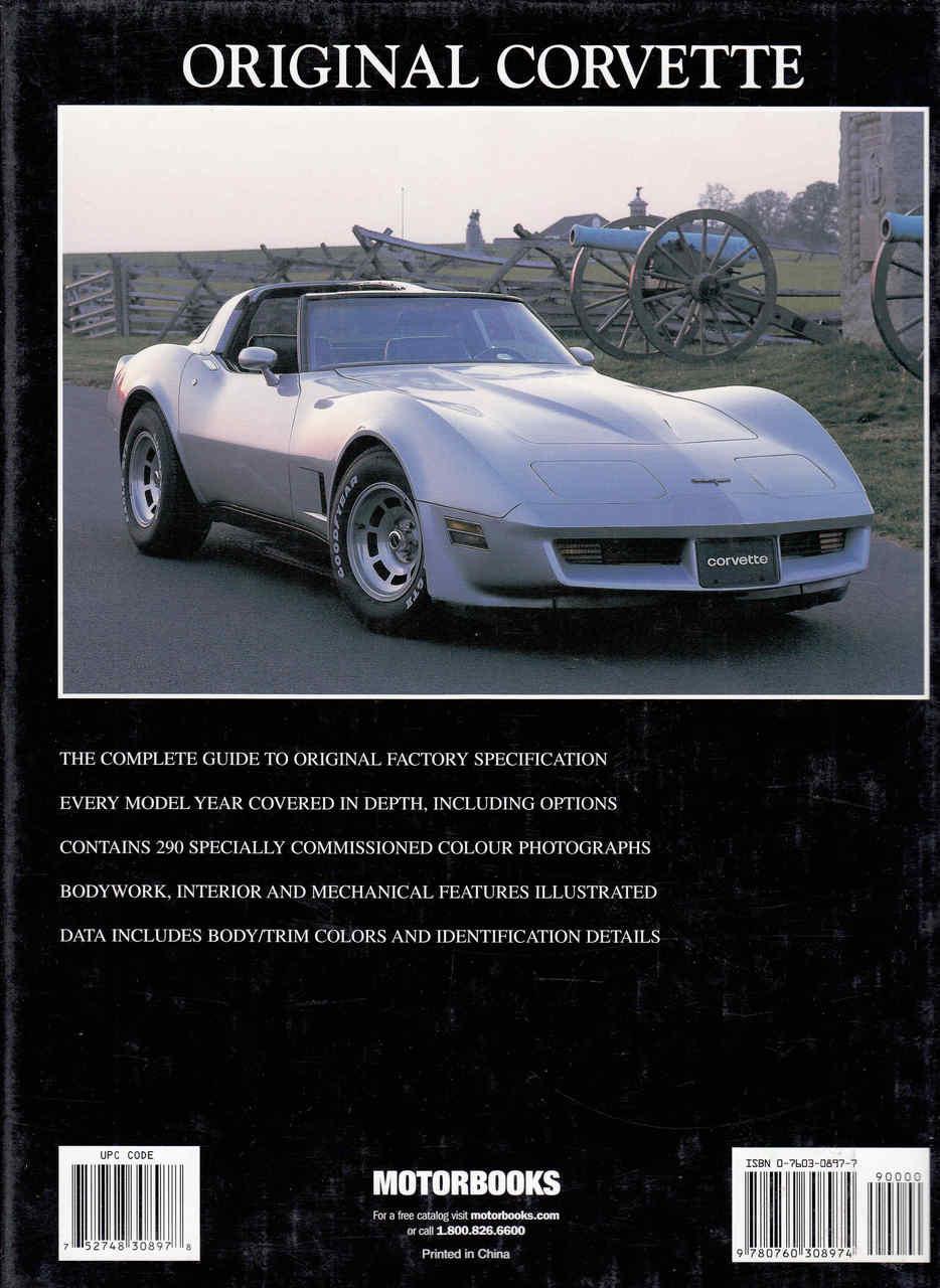 Original Corvette - The Restorer's Guide 1968-1982