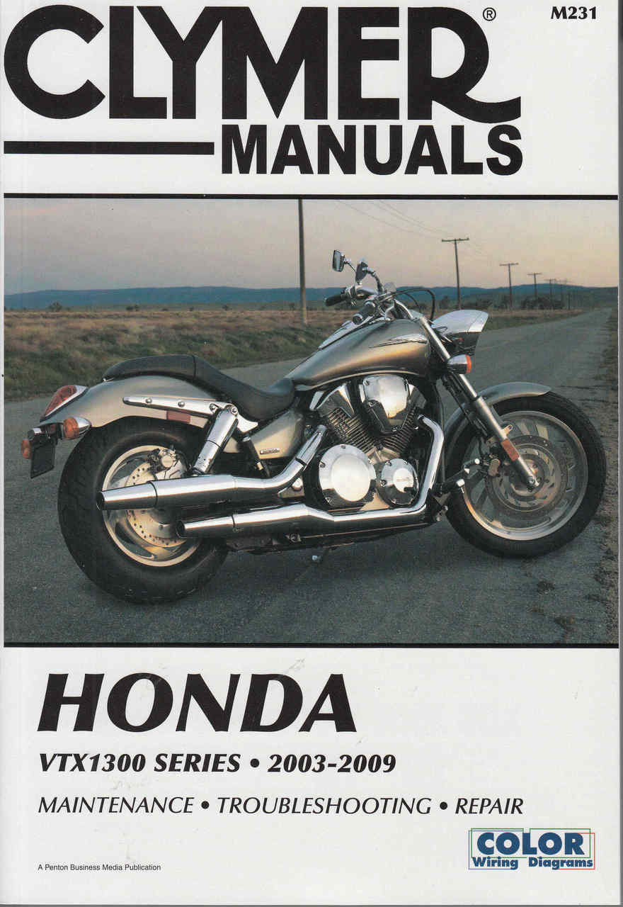 honda vtx1300 series (vtx1300s vtx1300c vtx1300r vtx1300t) 2003 - 2009  workshop manual