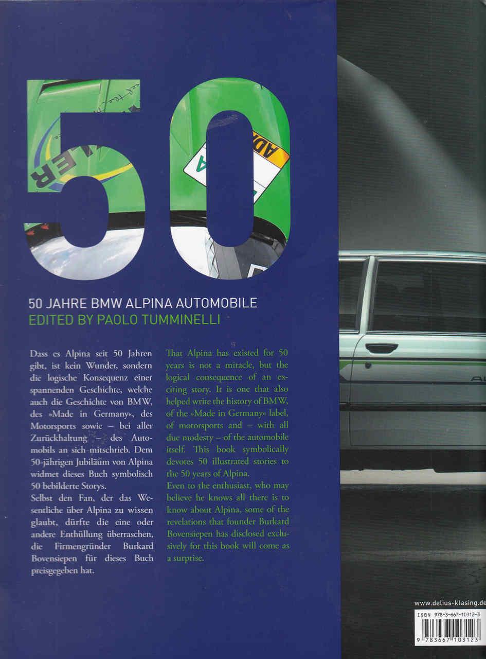 ae6c545f251b Manuals   Literature ALPINA BMW BOOK 50 Parts   Accessories