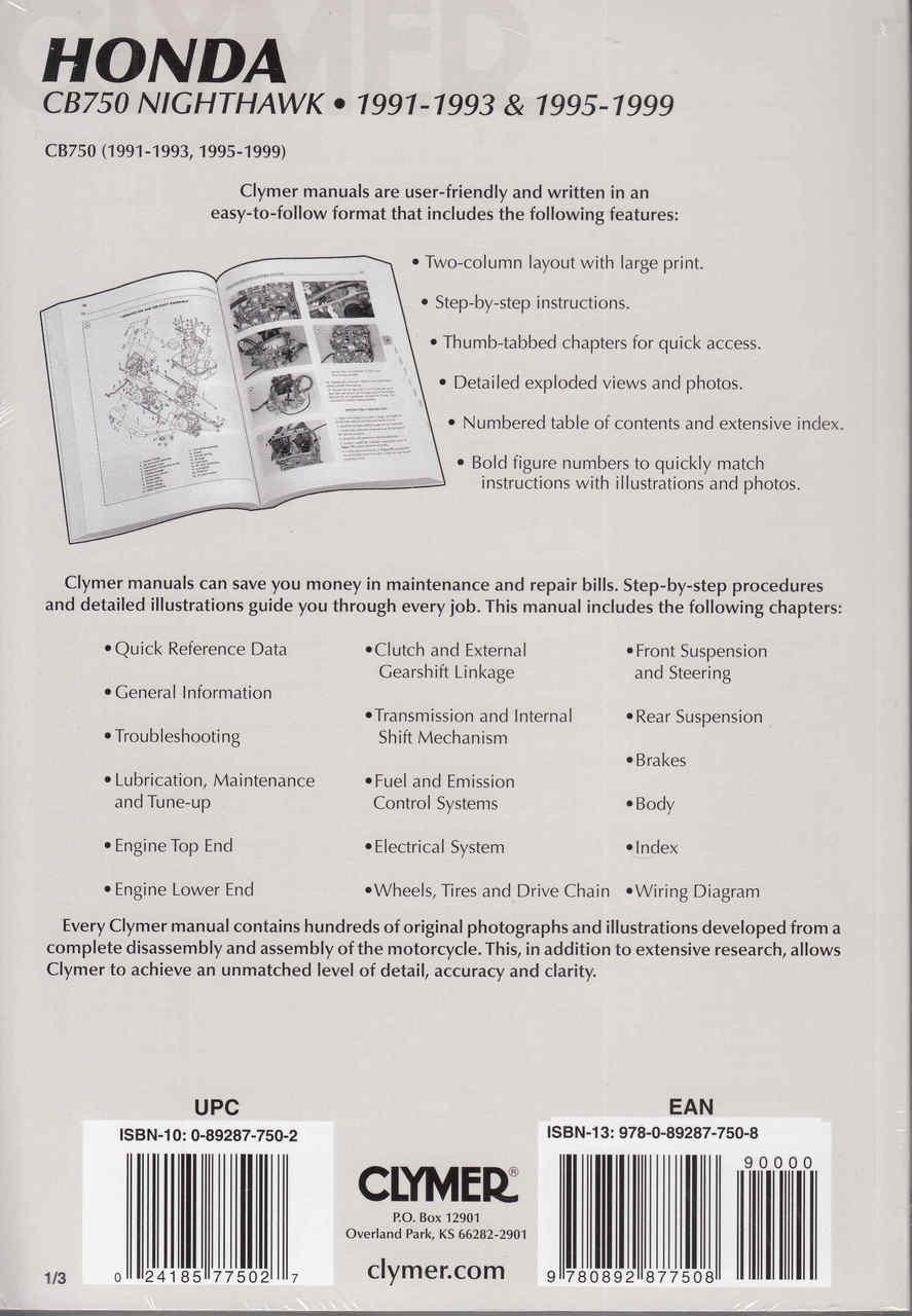 Honda Cb 750 1995 Wiring Diagram - Wiring Diagrams on