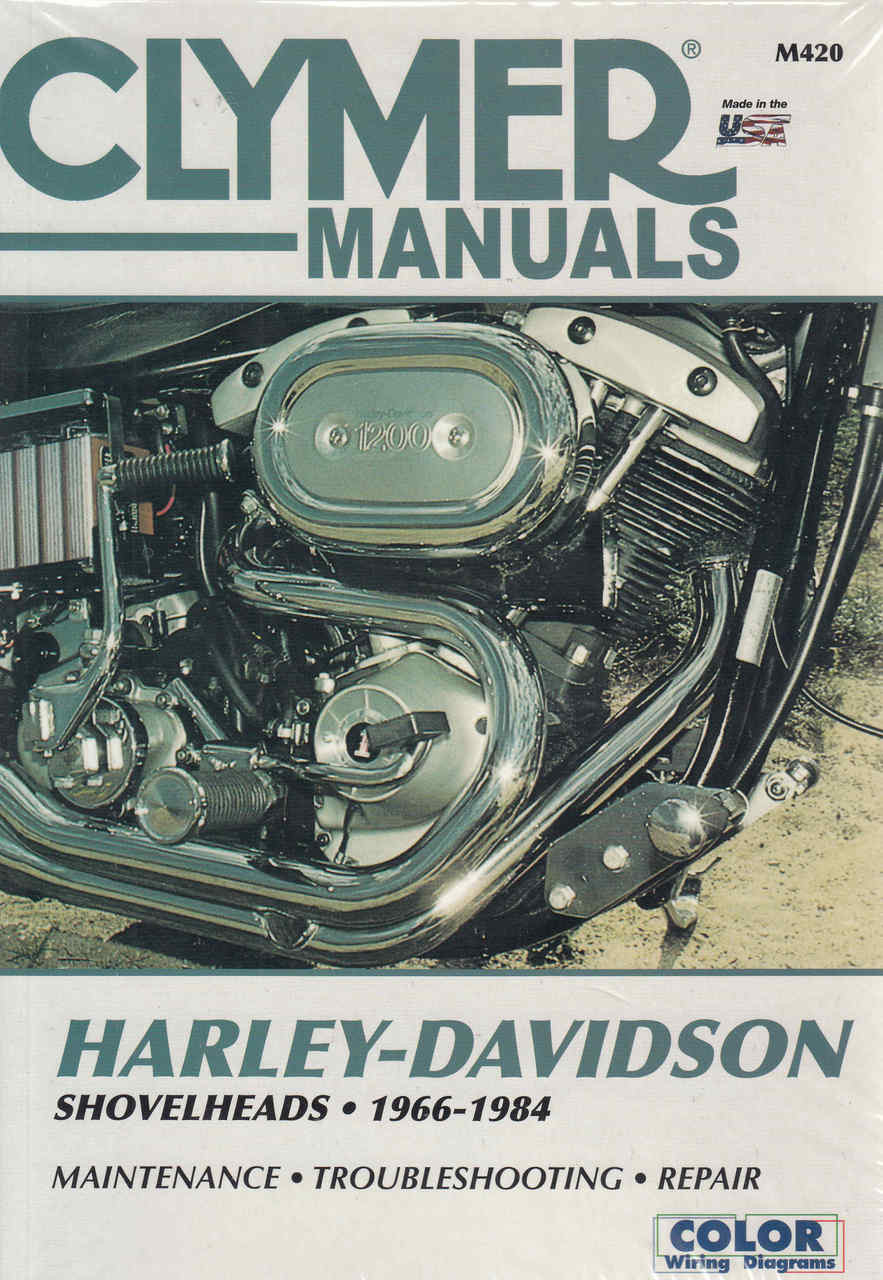 Harley-Davidson Shovelheads 1966 - 1984 Workshop Manual on