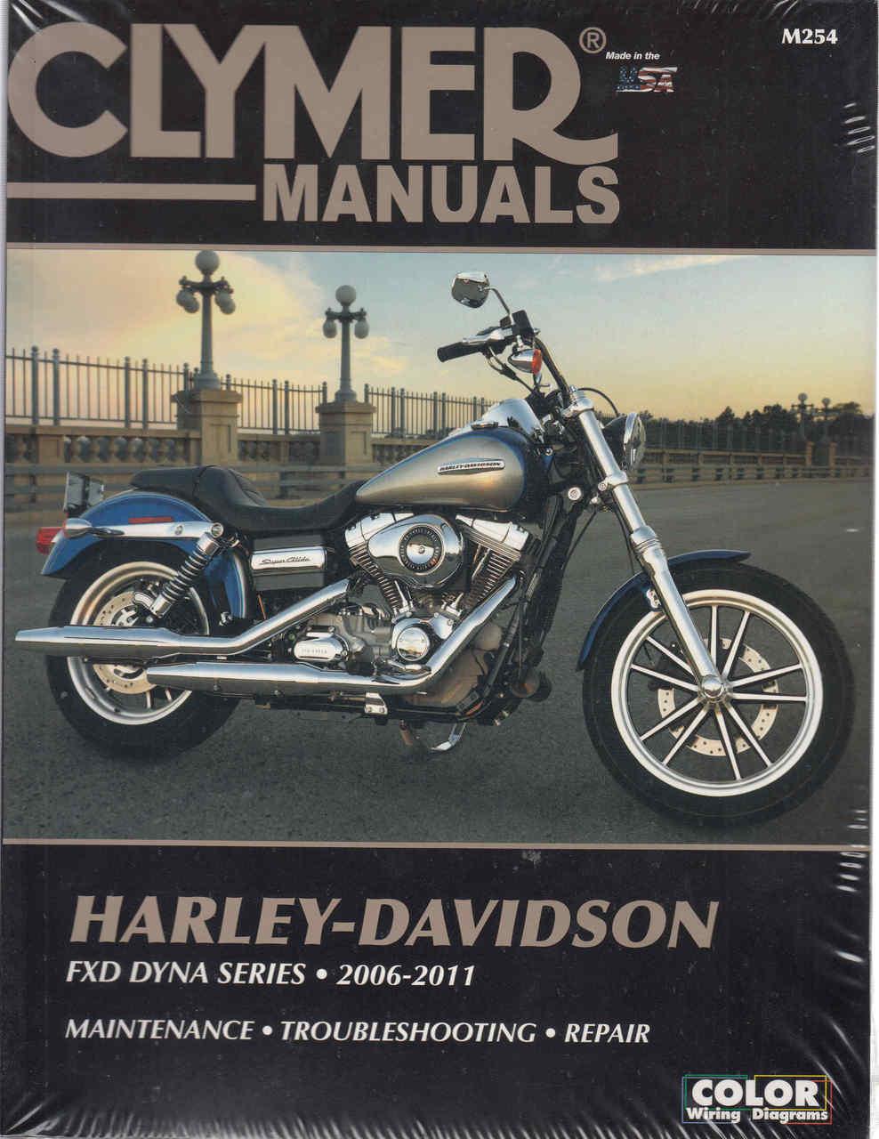 Harley-Davidson FXD DYNA SERIES 2006 - 2011 Workshop Manual on