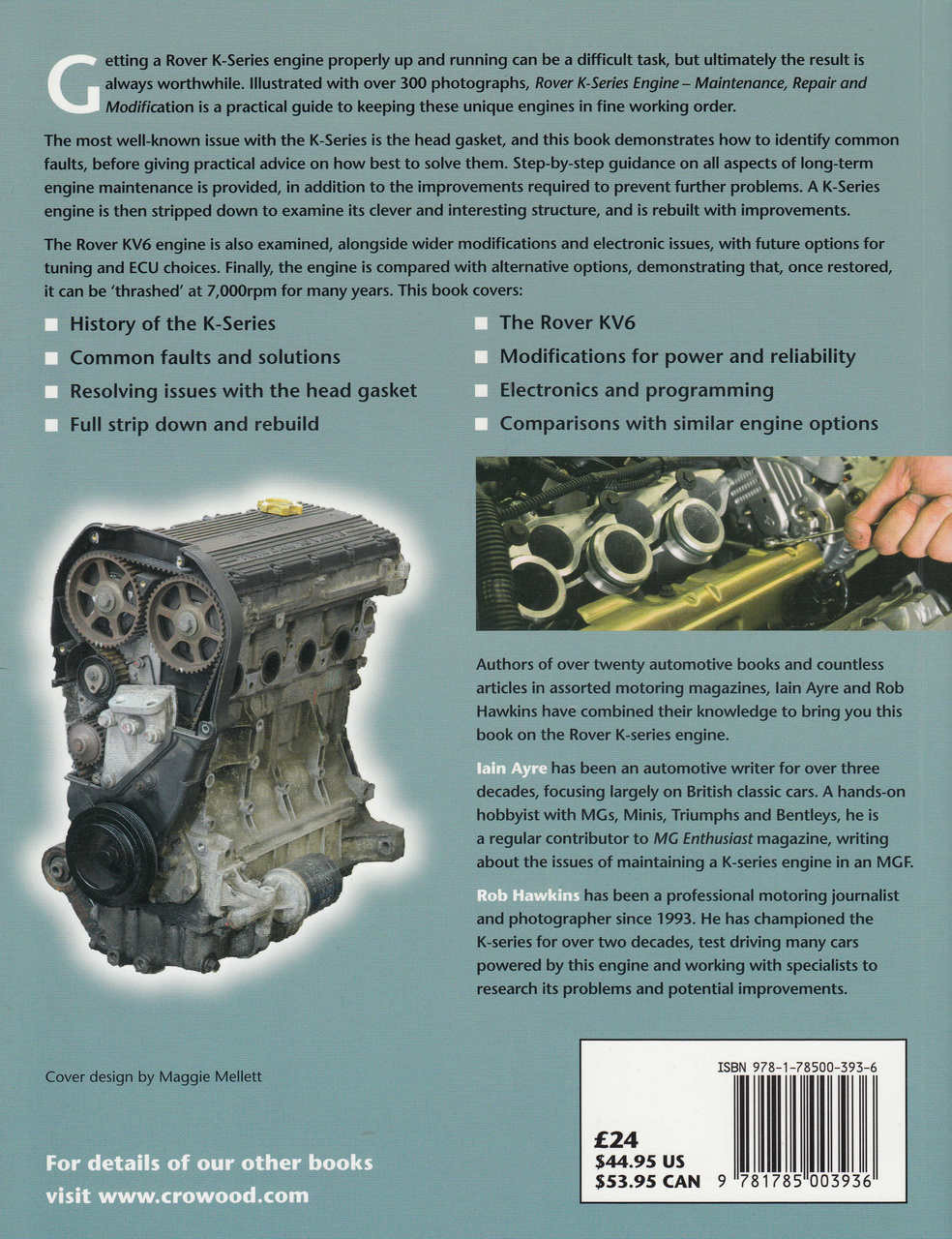 Rover K-Series Engine (Maintenance, Repair & Modification)