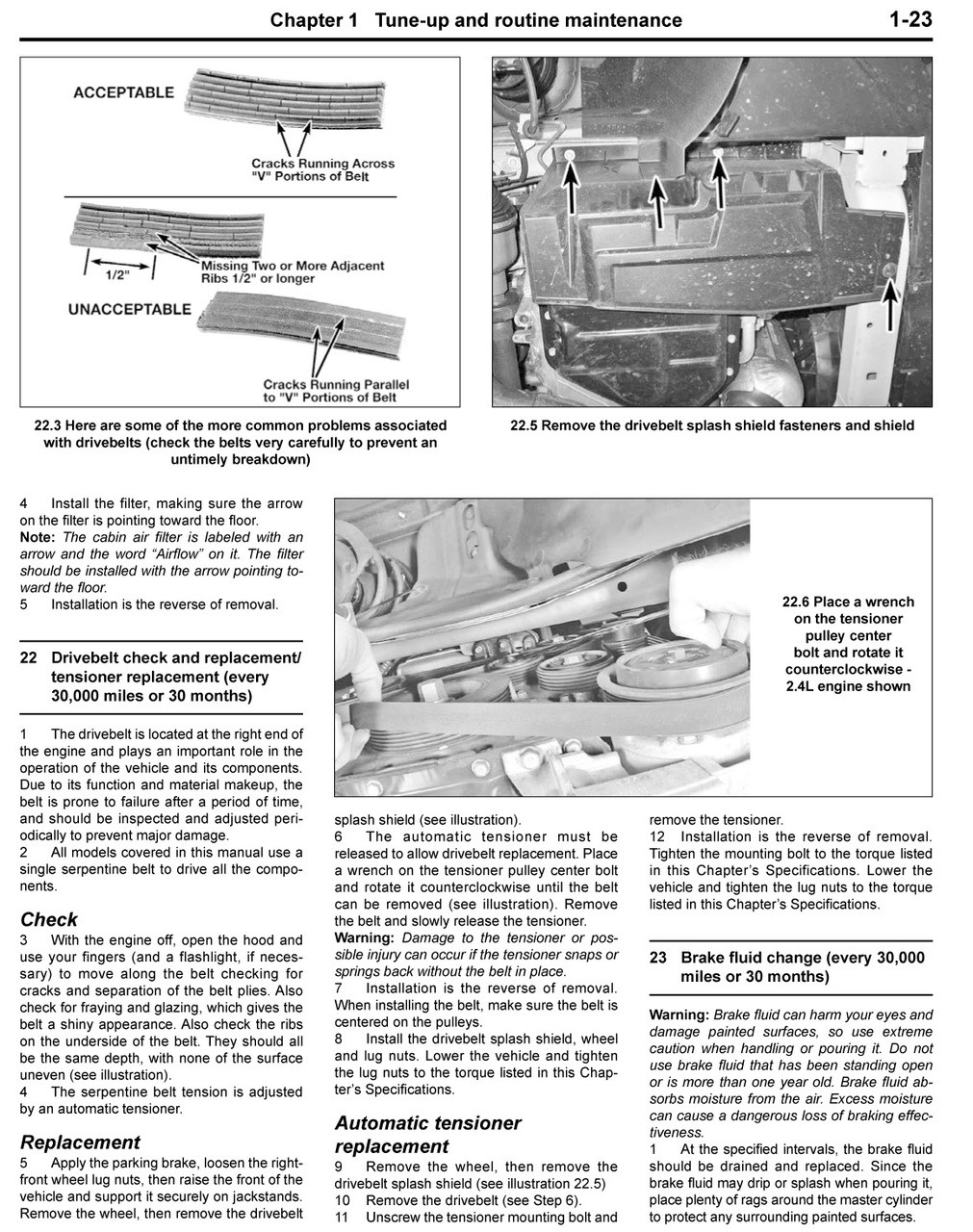 Jeep Patriot & Compass Petrol 2007 - 2017 Workshop Manual