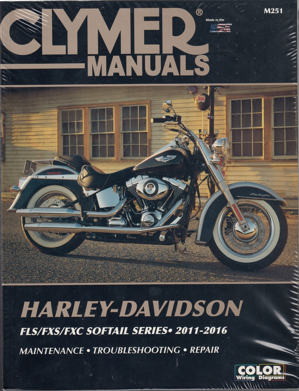 Clymer's Harley Davidson Workshop Manual FLS / FXS / FXC Softail Series on